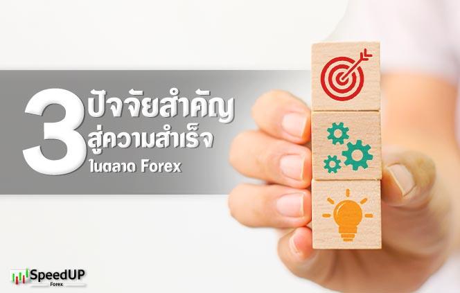 3 ปัจจัยสำคัญ Forex