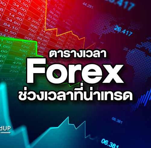 ตารางเวลา Forex สรุปคู่สกุลเงินหลักและช่วงเวลาที่น่าเทรด