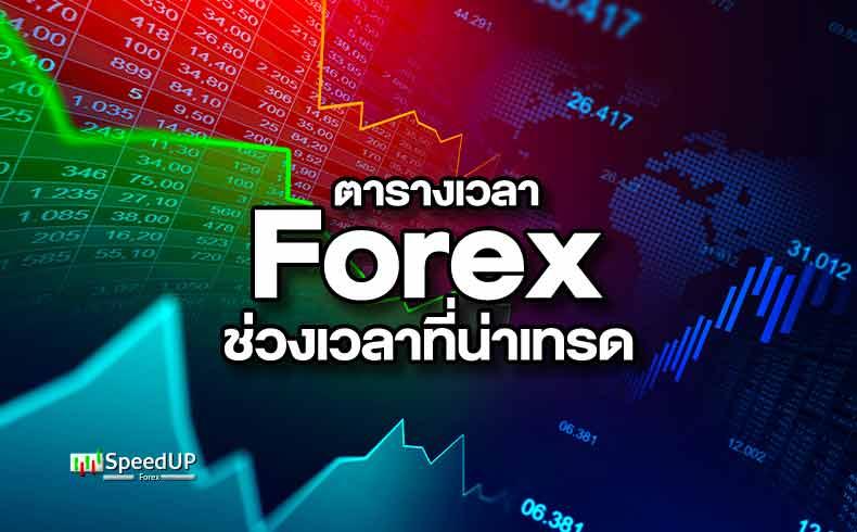 ตารางเวลา Forex