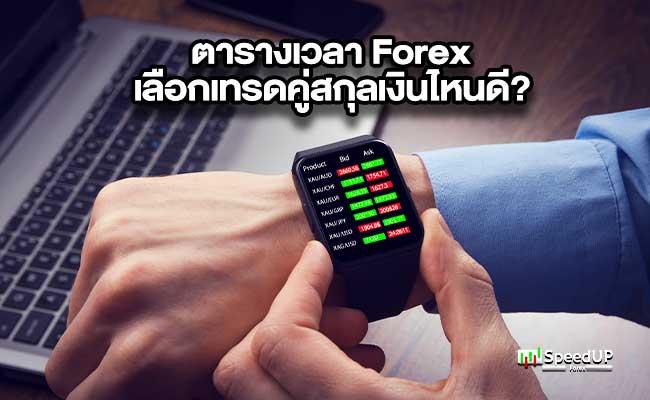 ตารางเวลา Forex เลือกเทรดคู่สกุลเงินไหนดี